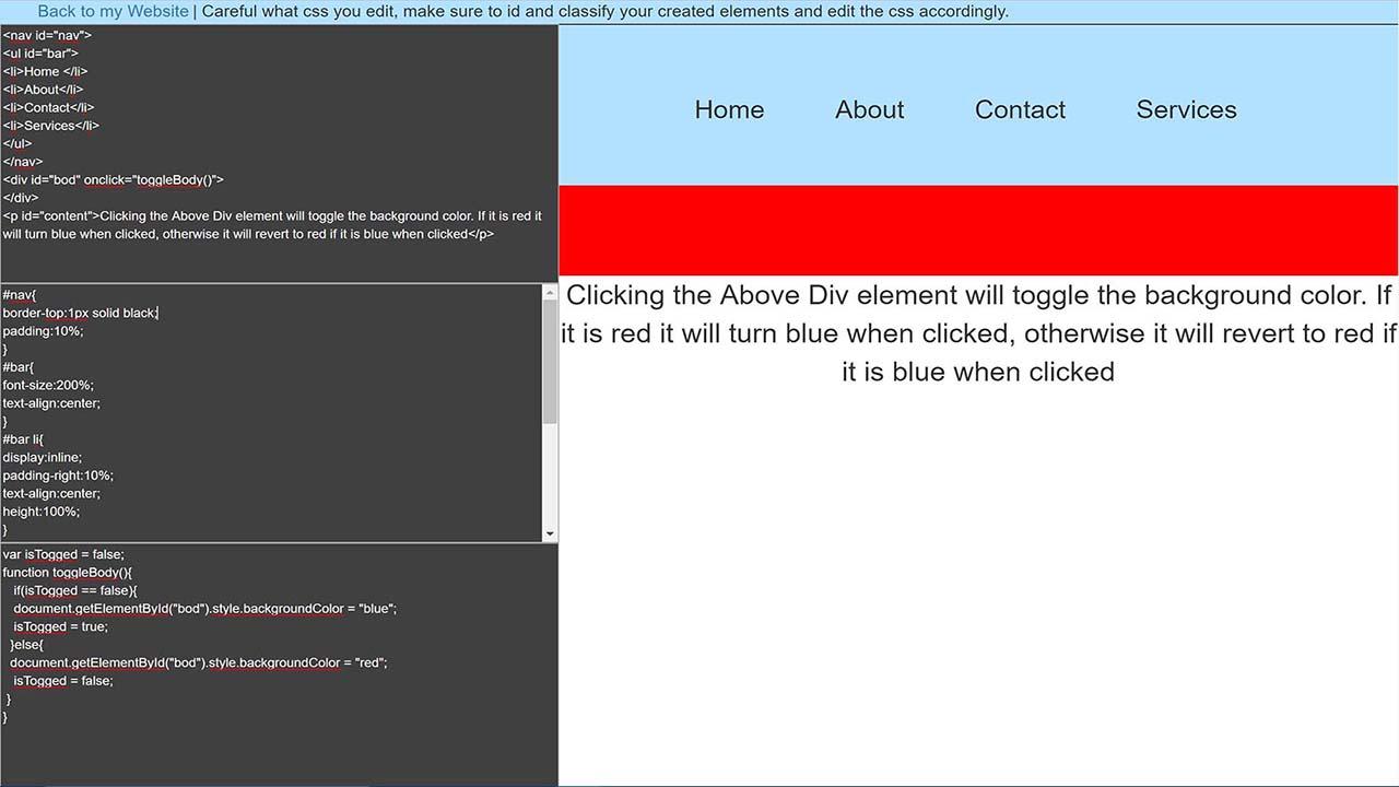 webdev editor